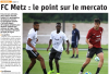 2019 AMICAL METZ REIMS, l'avant match le 23/07/2019