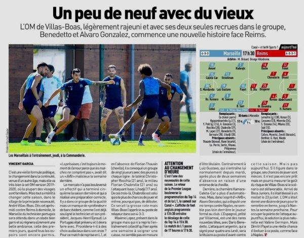 2019 Ligue 1 J01 MARSEILLE REIMS , l'avant match, le 10/08/2019