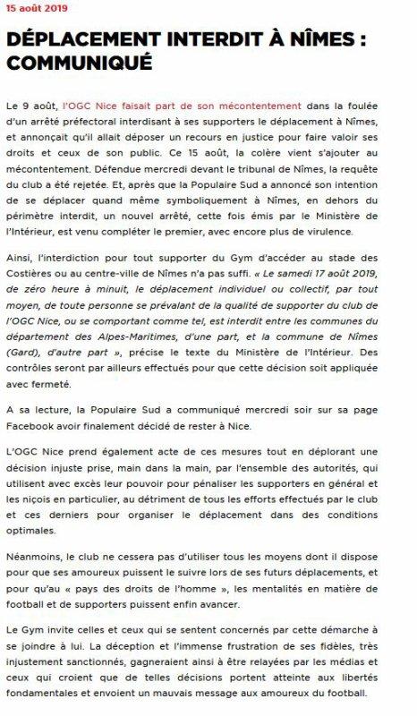 2019 Ligue 1 J02 LES INCOMPÉTENTS sont PARTOUT PRÉSENTS, le 17/08/2019
