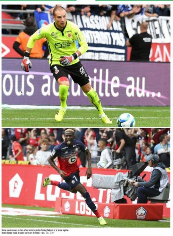 2019 Ligue 1 J04 REIMS LILLE, l'avant match dans la PQR, le 01/09/2019