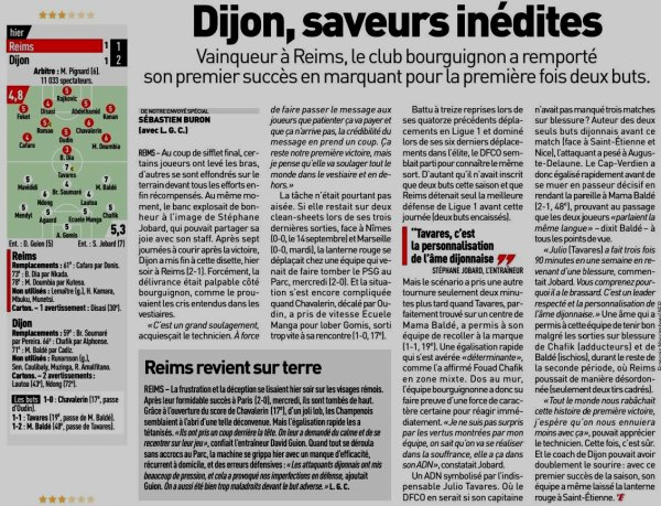 2019 Ligue 1 J08 REIMS DIJON 1-2 , le 28/09/2019