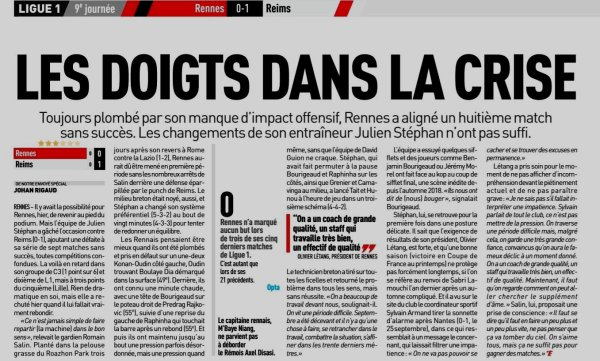 2019 Ligue 1 J09 RENNES REIMS 0-1, le 06/10/2019