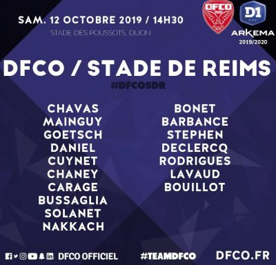 2019 D1 Féminines J05 DIJON REIMS 1-1, le 12/10/2019