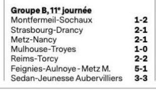 2019 U17 Championnat national, LA PHASE ALLER , suite  , le 09/11/2019