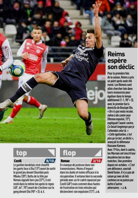 2019 Ligue 1 J15 REIMS BORDEAUX 1-1, le 30/11/2019