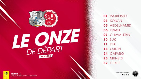 2019 Ligue 1 J16 AMIENS REIMS, l'avant match et report , le 04/12/2019