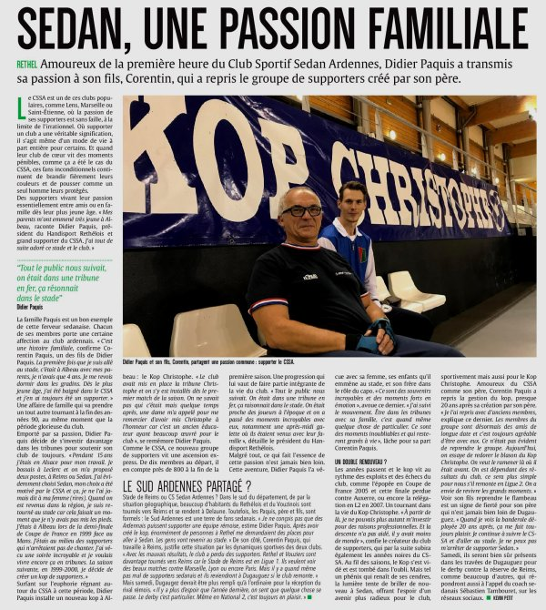 2019 NATIONAL 2 J14 SEDAN REIMS, l'avant match, le 14/12/2019