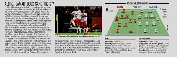 2019 CDL demie finale : REIMS PSG , l'avant match, le 22/01/2020