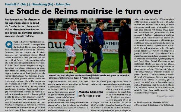 2019 Ligue 1 J24 STRASBOURG REIMS, l'avant match, le 09/02/2020