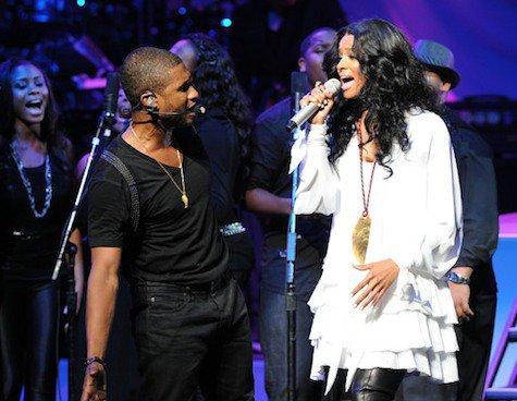 Ciara et Usher
