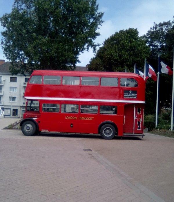 vieux bus anglais