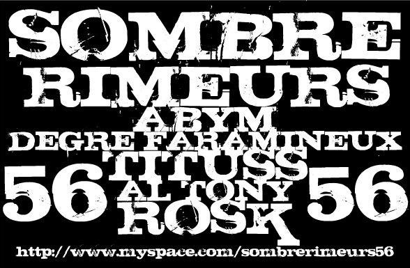 SOMBRE RIMEURS ( sombrerimeurs@live.fr )