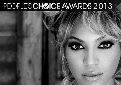 Beyonce Nominée Aux People's Choice Awards 2013 !