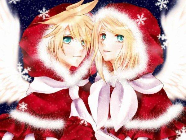 Image de Noël ! 2ème partie : Vocaloid ! :D