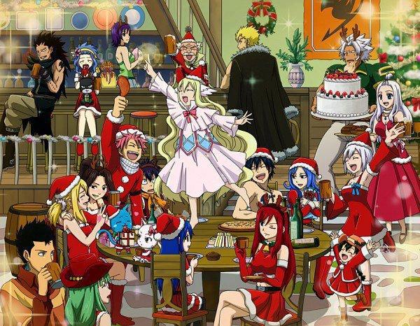 Images de Noël ! 3ème partie : Fairy Tail 2.0 !!