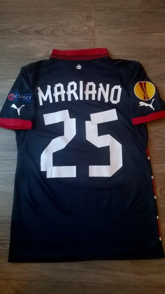 Maillot porté par Mariano Europa League 2013/2014 Bordeaux / Eintracht Francfort