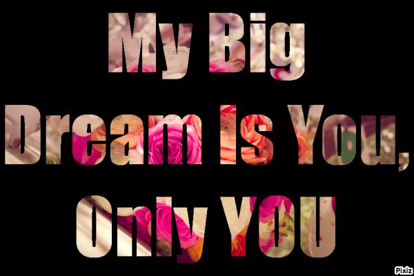 Mon plus gros rêve...