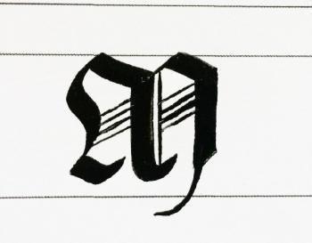 La calligraphie ,l'art de la belle écriture