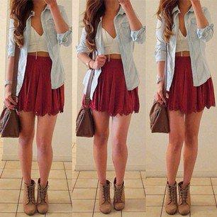 chemise et jupe :)