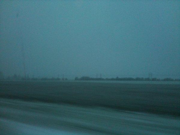 Le Loiret sous la neige !