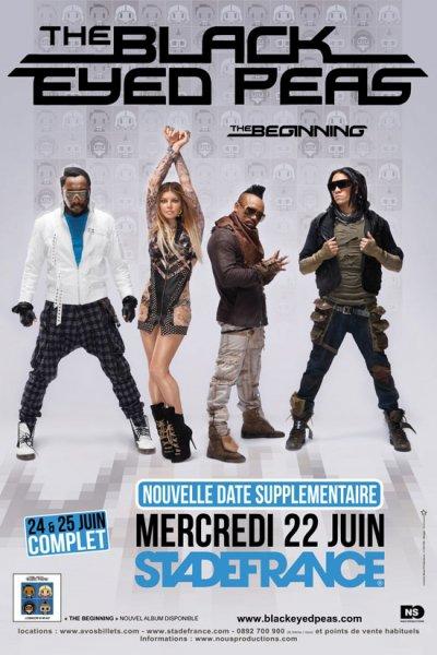 Concert des Black Eyed Peas live @ Stade de France - 22/06/2011