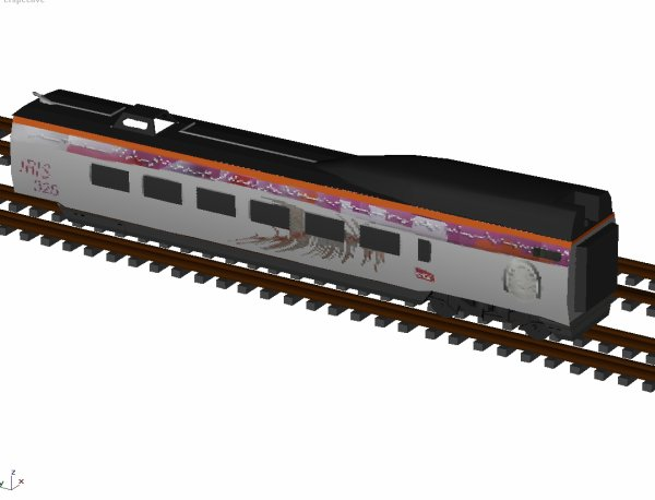 IRIS 320, progression de la 3D
