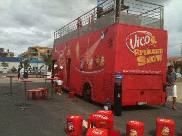 Vico Aperoad show @ Port La Nouvelle