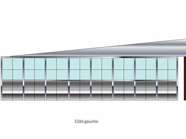 Design de la gare terminus du réseau.