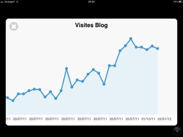 Visites - Bilans mensuel et annuel