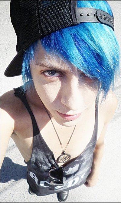 Je suis maintenant avec le ciel bleu lol