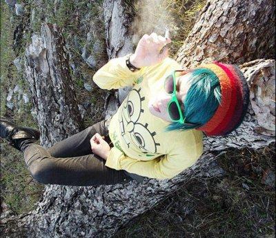 lunette verte et nature lol