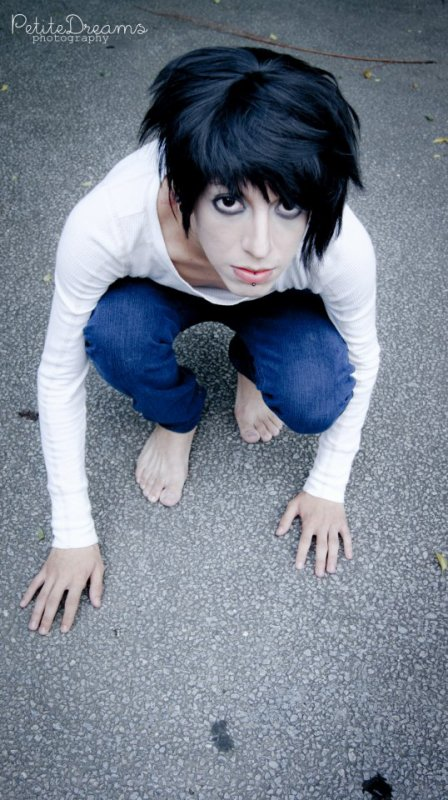 cosplay death note : L