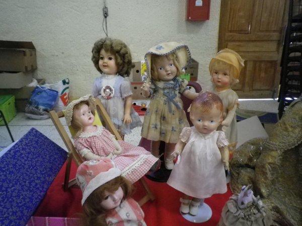 Salon de la poupée ancienne Isle sur la Sorgue 2017