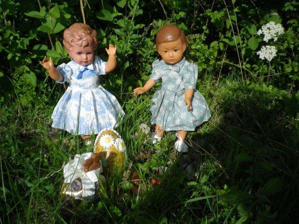 Françoise et Gabrielle fêtent Pâques