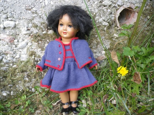 Kizzie, petite allemande noire
