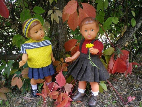 Les soeurs Françoise et les champignons