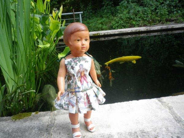 Françoise, la jolie jardinière
