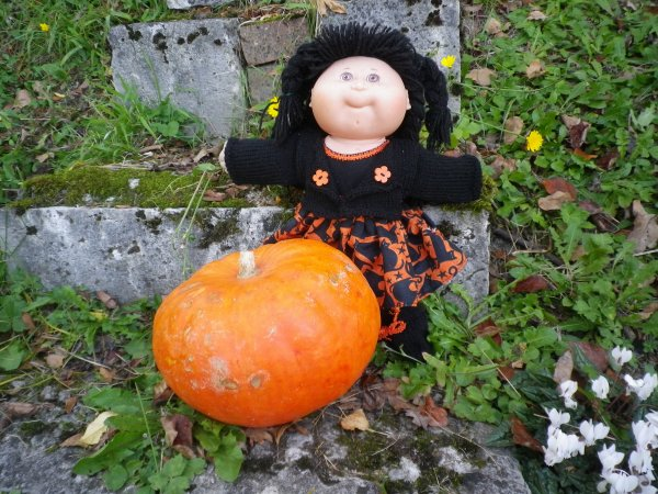 Halloween soft et couleurs d'automne.