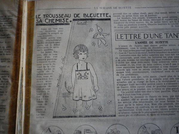 La parure de Bleuette décembre 1932