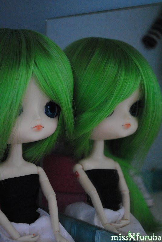 Nouvelle wig pour Rin