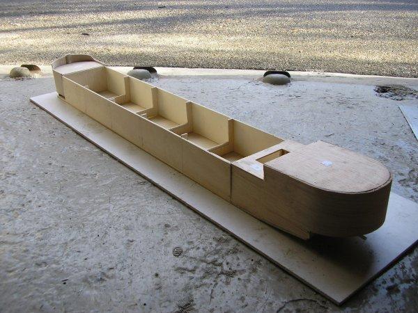 Fabrication d'une péniche