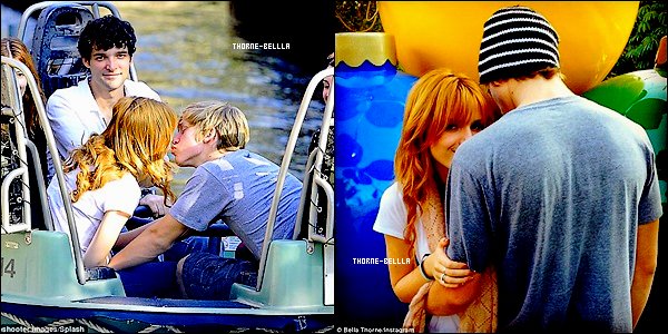 3/11/12: Bella et Tristan étaient a Disney Land avec sa soeur et son copain ainsi que d'autres amis a Anaheim Top/Flop ?