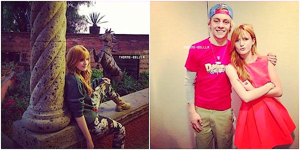 27/11/2012: La Thorne est rentré a LA puisqu'elle a était appérçue a L'aeroport Top/Flop?