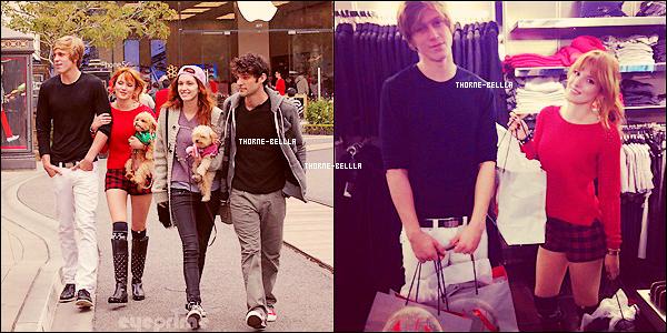 17/12/2012 : Bella et son boyfrien ainsi que sa soeur  faisant du shopping Top/Flop ?