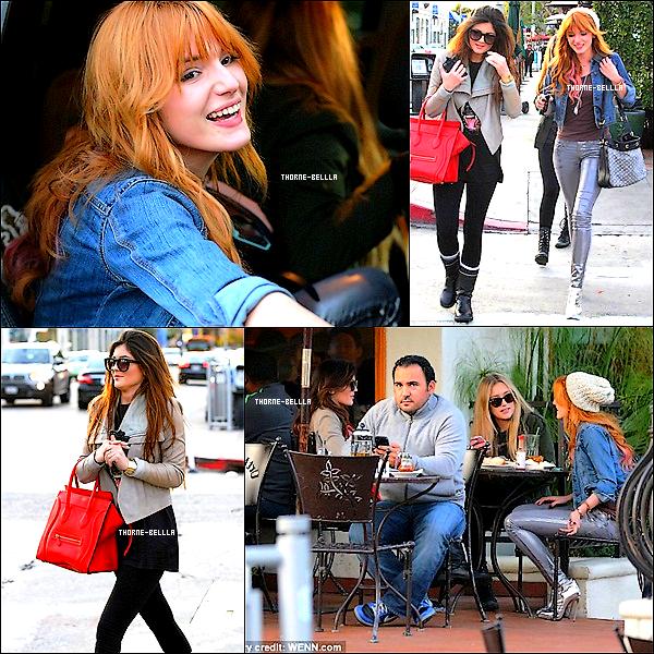 21/12/2012 : Bella est allée déjeuner avec Kylie Jenner et une amie Top/Flop ? .