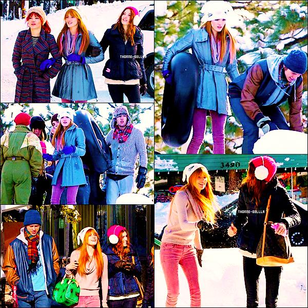 27/12/2012 : Bella et sa famille et son copain sont  au Lac Tahoe Top/Flop ? .