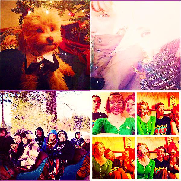 31/12/2012 : Bella était avec toute sa famille encore au LacThaoe pour des vac Top/Flop ? .