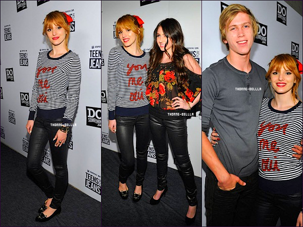 8/12/2012 : Bella  au Teens for Jeans avec son boyfriend Top/Flop ?