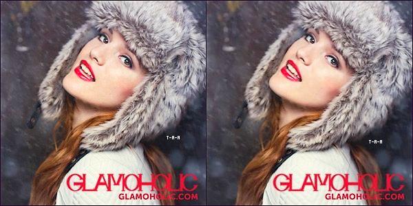 Découvez des photos de bella pour le shooting de Glamolhic !