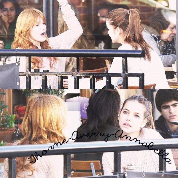 15/1/13: Bella est allée déjeuner avec Barbara Palvin Top/Flop ?     Bella était vraiment jolie tout en rose j'aime bien les shoes un Top pour moi et pour vous !.